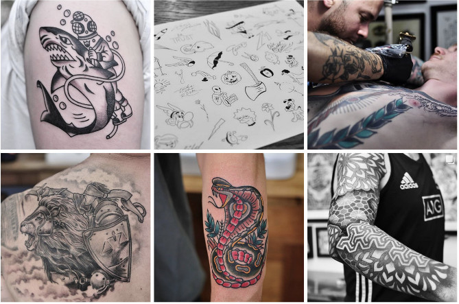 b2a6314e1 Years ago people use to apply different patterns and designs on their body  just to be different from others. now days tattoo parlours are just about  ...
